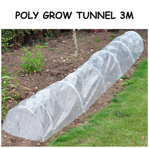 POLY GROW TUNNEL - CLOCHE - 3m - Multi Buy discount Deals