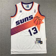 men's men's Phoenix Suns steve nash No.13 white classcial jersey S-2Xl stitched