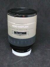 Minolta Vectis 400mm Reflex Lens f/8