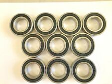 10 pcs 6904 2RS double rubber sealed ball bearing, 20 x 37x 9 mm