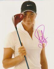 SUZANN PETTERSEN SIGNED LPGA GOLF 8x10 PHOTO #2 Autograph PROOF