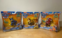 Paw Patrol Mighty Pups Action Figure Lot Of 3 CHASE RUBBLE MARSHALL Sealed NIB!