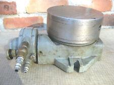 Brown Amp Sharpe No 7 Horizontal Pneumatic Air Rotary Table 6 12 Magnetic Chuck