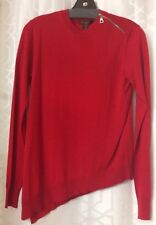 Louis Vuitton Sweater Red Cashmere Blend Long sleeve NWT SIZE S