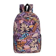Women Girls Canvas Backpack School Bag Laptop Travel Satchel Rucksack Handbag