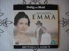 DAILY MAIL PROMO DVD FILM -JANE AUSTENS - EMMA  / BRITISH  CLASSICS SERIES 1
