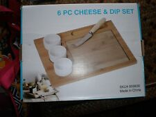New in a box  6 Piece Cheese and Dip Set great gift idea