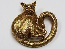 Kinkajou Pin Brooch Curly Tail Heritage Museum Replicas Hmr Amnh Monkey