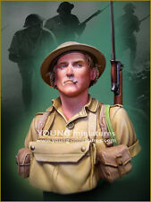 Young Miniatures - British Soldier - EL ALAMEIN 1942 - 1:10 scale resin bust