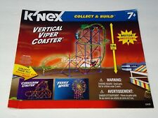 Knex Instruction Manual Only #12435 Vertical Viper Coaster Collect & Build Book