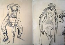 Thomas Hart Benton Drawings