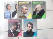 Lot de 5 revues de Design Intramuros