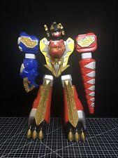 """Power Rangers 2003 Bandai Dino Thunder 24"""" Jumbo Thundersaurus Megazord Robot"""