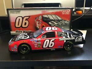 1/24 Mark Martin 2007 # 06 Dish Network 1 of 756 extremely rare autographed