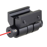 20mm Tactical Mini Red Laser Sight Dot For Rifle Scope Airsoft Picatinny Mount