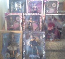 Hard Rock Cafe Barbie Complete 8 Doll Set NEW NRFB POP CULTURE BARBIE