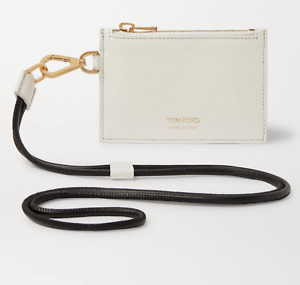 Tom Ford Lanyard Pouch Bag Neck Strap Coin Purse Wallet Card Case