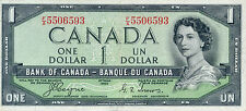 Canada P-66 1 dollar 1954 devil's face Pressed XF