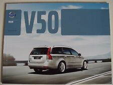 Volvo . V50 . Volvo V 50 . November 2011  Sales Brochure