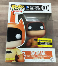 Batman (Orange) Super Heroes 01 FUNKO POP Entertainment Earth EXCLUSIVE B05