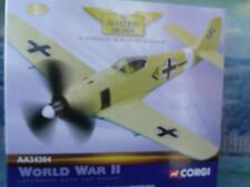 "1/72 Corgi Aviation AA34303 Focke-Wulf 190A-4 ""Black Double Chevron"" Tunisia 42"
