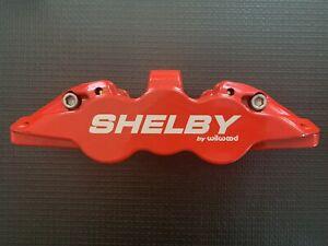 2005-2014 Mustang Wilwood Shelby Super Snake Front Left 6 Piston Red Caliper