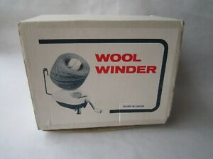 VINTAGE ROYAL MADE IN JAPAN HAND OPERATED WOOL WINDER BOXED VGC
