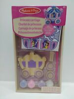 Melissa and Doug Decorate Your Own Wooden Princess Carriage (BNIB) - 19519