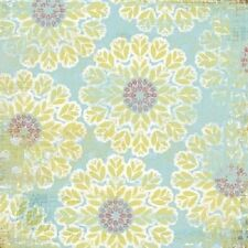 My Mind's Eye Laundry Line Coastal collection -  Celebrate- Party flowers paper