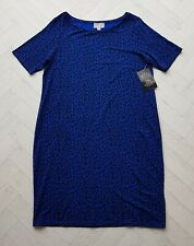 New PURE COLLECTION Blue Short Sleeve T-Shirt Dress Long Tunic Size 14