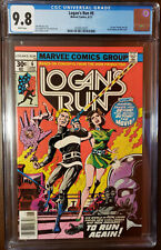 LOGAN'S RUN #6 1ST THANOS SOLO STORY BY MIKE ZECK WHITE PAGES CGC 9.8
