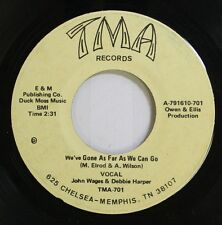 Country 45 John Wages & Debbie Harper - We'Ve Gone As Far As We Can Go / Why Do