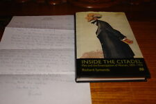 INSIDE THE CITADEL-MEN AND THE EMANCIPATION OF WOMEN,1850-1920 BY RICHARD SYMOND