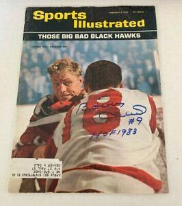 Sports Illustrated HOF Bobby Hull Chicago Blackhawks Autographed  2/3/1964 1964