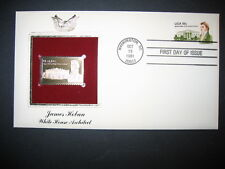1981 James Hoban White House Architect 22kt Gold GOLDEN Cover replica STAMP