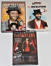 Red Skelton TV Show DVD Lot of 3 - Over 15 Hours Includes Collector's Edition