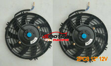 "2* 12"" electric radiator cooling thermo fan & mounting kit for VG VL VN VP VR VS"
