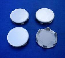 (Z05 Silber) 4x Nabenkappen Nabendeckel Felgendeckel 59,5 / 56 mm für Alufelge