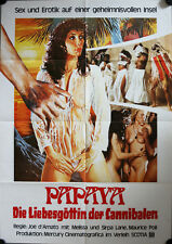 Papaya Die Liebesgöttin der Cannibalen Filmposter A1 Papaya dei Caribi Kannibale
