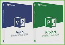 [LICENSE] ON PROJECT AND VISIO PROFESSIONAL 2019 DVD WORLDWIDE