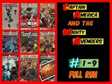 Captain America and the Mighty Avengers #1-9 Full Run With #1 Variant (2015) NM