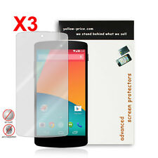 NEW 2014 Anti-Glare Matte Screen Protector for Google Nexus 5 - 3 Pack