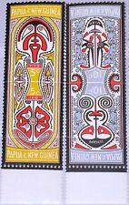 PAPUA NEUGUINEA NEW GUINEA 1969 154-57 280-83 Myths of Elema People Sagen MNH