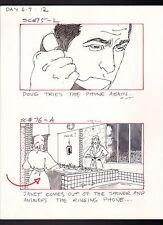 SHE'S OUT OF CONTROL 1989 TONY DANZA ORIGINAL STORYBOARD ART CARL ALDANA SC#75/6