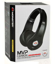 Monster Game MVP Carbon On-Ear Gaming Headset by EA Sports (Black)