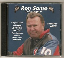 Ron Santo Chicago Cubs Announcer Baseball Voices Tribute Audio CD