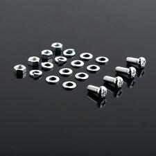 KAWASAKI 250 S1B,KH/400 S3,KH ;4 VIS FIXATION COMPLETES GARDE BOUE AVANT NEUVES