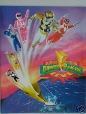 MIGHTY MORPHIN POWER RANGERS 1995/1996 tour programme 25 pages