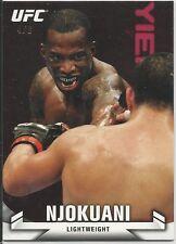 Anthony Njokuani 2013 Topps UFC Knockout Red Card # 36 4/8