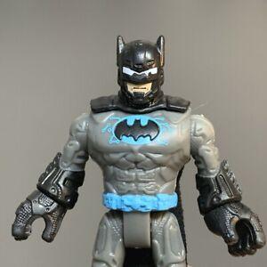 Rare Fisher-Price Imaginext Dc Comics Super friends Blue batman Figure Toy #1